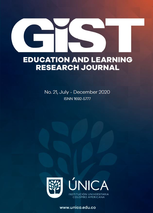 View Vol. 21 (2020): GiST Education and Learning Research Journal